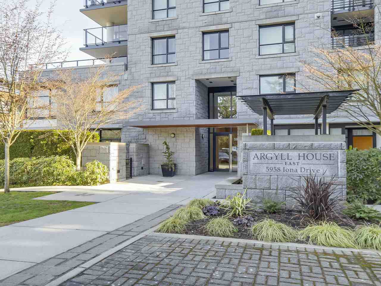 "Main Photo: 301 5958 IONA Drive in Vancouver: University VW Condo for sale in ""ARGYLL HOUSE EAST"" (Vancouver West)  : MLS®# R2247322"