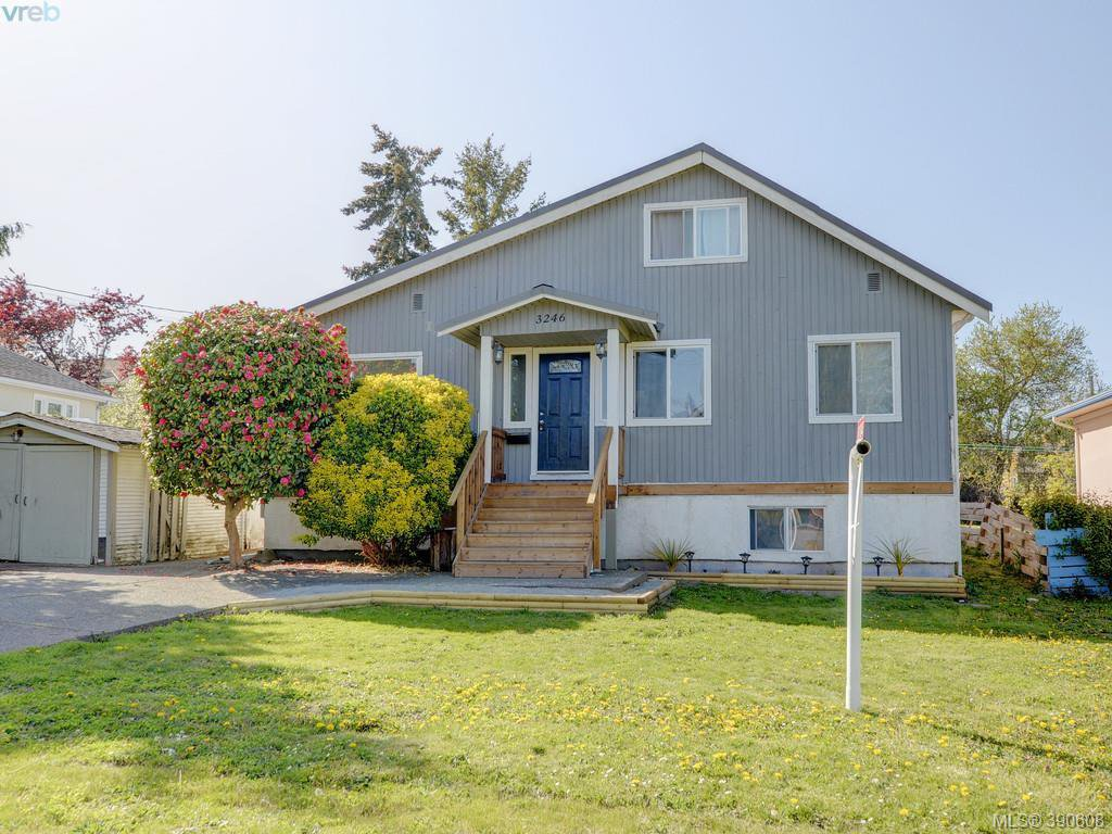 Main Photo: 3246 Irma St in VICTORIA: SW Rudd Park House for sale (Saanich West)  : MLS®# 785071