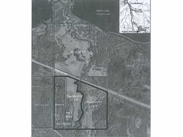 Main Photo: 2 Old Amaco Road: Rural Wood Buffalo I.D. Land Commercial for sale : MLS®# E4148230