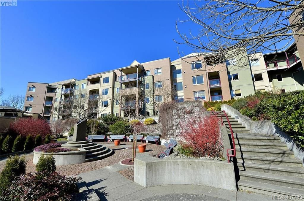 Main Photo: 407 27 Songhees Rd in VICTORIA: VW Songhees Condo for sale (Victoria West)  : MLS®# 810379