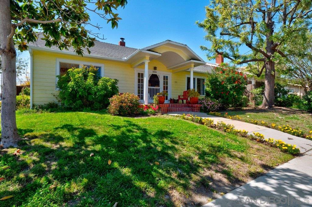 Main Photo: NORTH PARK House for sale : 3 bedrooms : 3604 GRANADA AVE in San Diego