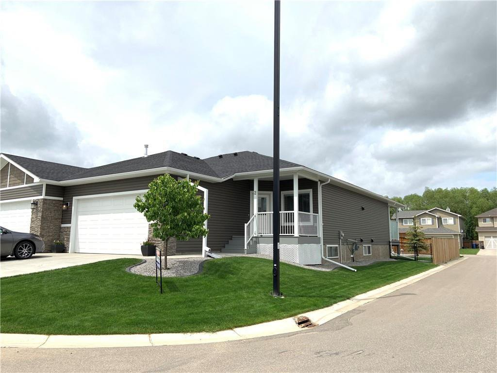 Main Photo: 2 Stone Garden Crescent: Carstairs Semi Detached for sale : MLS®# C4293584