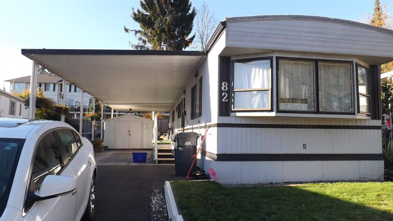 Main Photo: 82 1840 160 Street in Surrey: King George Corridor Manufactured Home for sale (South Surrey White Rock)  : MLS®# R2462286