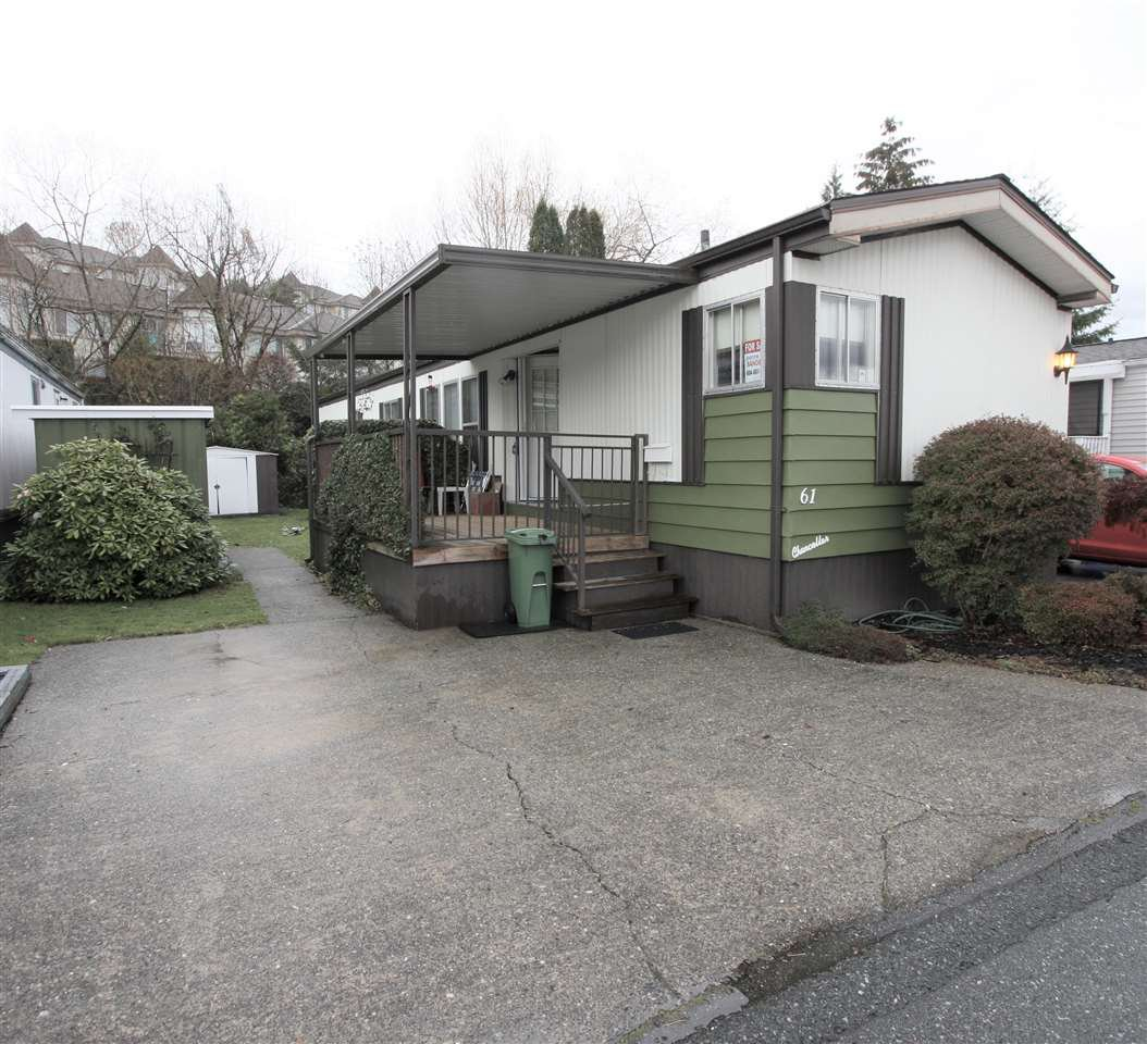 "Main Photo: 61 3300 HORN Street in Abbotsford: Central Abbotsford Manufactured Home for sale in ""Georgian Park"" : MLS®# R2519380"