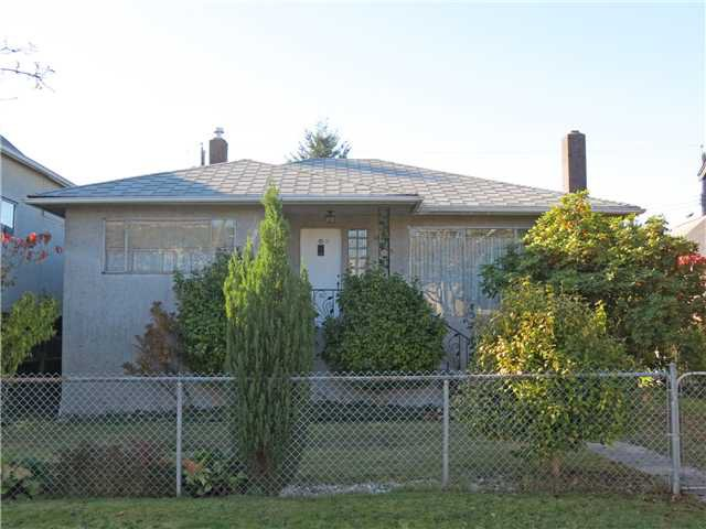 Main Photo: 1315 LAKEWOOD DR in Vancouver: Grandview VE House for sale (Vancouver East)  : MLS®# V1033837