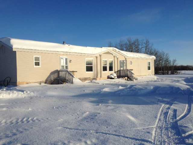 Main Photo: 6476 CLAYHURST Road in Fort St. John: Fort St. John - Rural E 100th Manufactured Home for sale (Fort St. John (Zone 60))  : MLS®# N241692