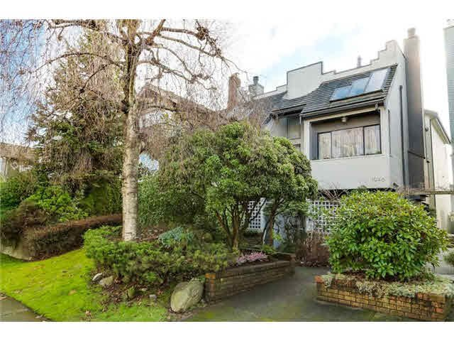 "Main Photo: 1946 MCNICOLL Avenue in Vancouver: Kitsilano House 1/2 Duplex for sale in ""Kits Point"" (Vancouver West)  : MLS®# V1101477"