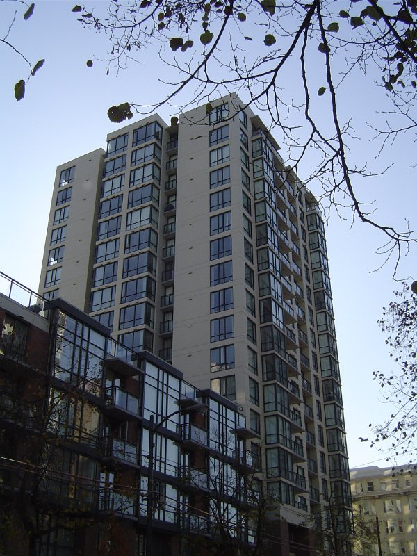 Main Photo: #1202  1082 Seymour Street in Vancouver: Downtown VW Condo for sale (Vancouver West)  : MLS®# V601453