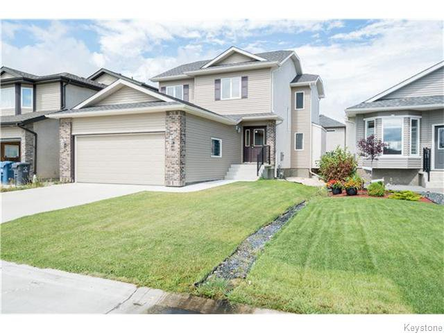 Main Photo: 354 Edmund Gale Drive in Winnipeg: Canterbury Park Residential for sale (3M)  : MLS®# 1621034