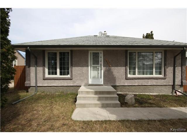 Main Photo: 1007 Talbot Avenue in Winnipeg: East Elmwood Residential for sale (3B)  : MLS®# 1710369