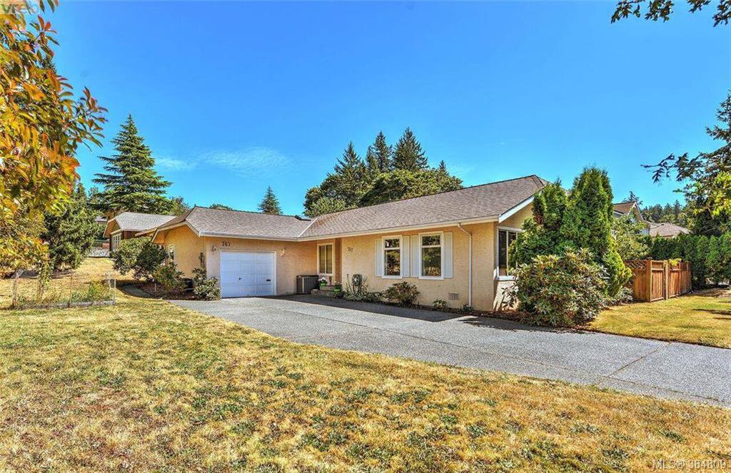 Main Photo: 767 Haliburton Rd in VICTORIA: SE Cordova Bay Single Family Detached for sale (Saanich East)  : MLS®# 773451
