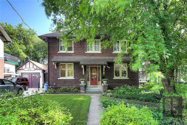 Main Photo: 856 Palmerston Avenue in Winnipeg: Wolseley Residential for sale (5B)  : MLS®# 1824468