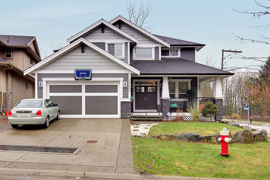 "Main Photo: 24602 103 Avenue in Maple Ridge: Albion House for sale in ""THORNHILL HEIGHTS"" : MLS®# R2435547"