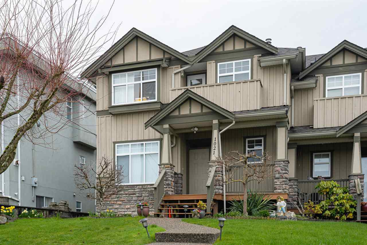 Main Photo: 1021 STEWART Avenue in Coquitlam: Maillardville House 1/2 Duplex for sale : MLS®# R2445154