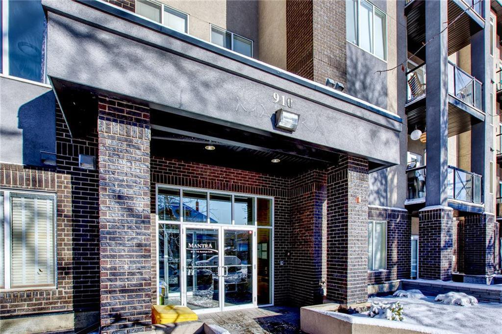Main Photo: 408 910 18 Avenue SW in Calgary: Lower Mount Royal Apartment for sale : MLS®# A1039437
