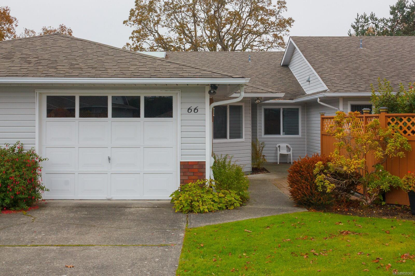 Main Photo: 66 4125 Interurban Rd in : SW Northridge Row/Townhouse for sale (Saanich West)  : MLS®# 859360