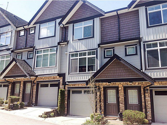 """Main Photo: 15 6299 144TH Street in Surrey: Sullivan Station Townhouse for sale in """"ALTURA"""" : MLS®# F1407948"""