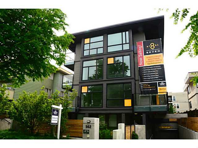 Main Photo: 202 562 E 7TH Avenue in Vancouver: Mount Pleasant VE Condo for sale (Vancouver East)  : MLS®# V1063802