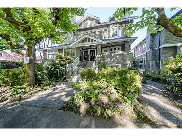 Main Photo: 1816 COLLINGWOOD Street in Vancouver: Kitsilano Townhouse for sale (Vancouver West)  : MLS®# V1064801