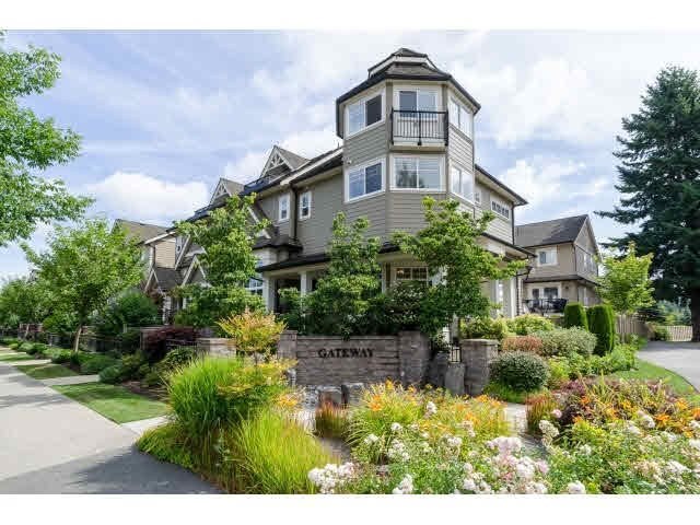 "Main Photo: 14 3268 156A Street in Surrey: Morgan Creek Townhouse for sale in ""GATEWAY"" (South Surrey White Rock)  : MLS®# F1447206"
