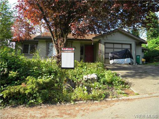 Main Photo: 4051 Knibbs Green in VICTORIA: SW Strawberry Vale Single Family Detached for sale (Saanich West)  : MLS®# 363606