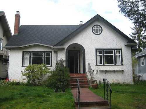 Main Photo: 1855 15TH Ave W: Kitsilano Home for sale ()  : MLS®# V885410