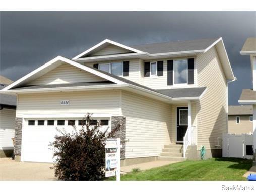 Main Photo: 4334 MEADOWSWEET Lane in Regina: Single Family Dwelling for sale (Regina Area 01)  : MLS®# 584657