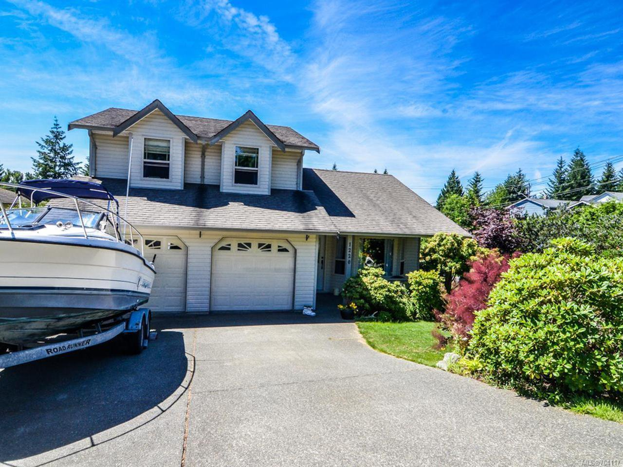 Main Photo: 1220 MOUNTAIN VIEW PLACE in CAMPBELL RIVER: CR Campbell River Central House for sale (Campbell River)  : MLS®# 764117