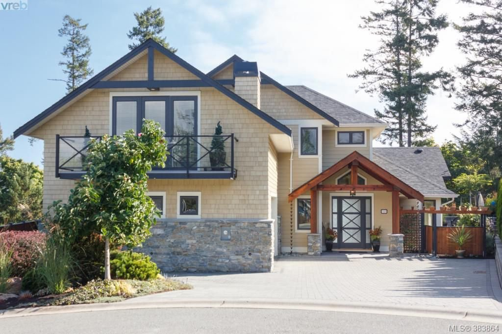 Main Photo: 717 Bossi Place in VICTORIA: SE Cordova Bay Single Family Detached for sale (Saanich East)  : MLS®# 383864