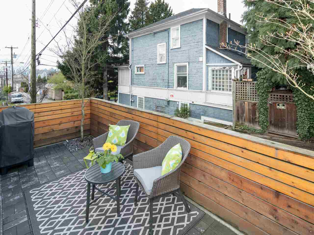 Photo 17: Photos: 4 1411 E 1ST AVENUE in Vancouver: Grandview VE Townhouse for sale (Vancouver East)  : MLS®# R2254853