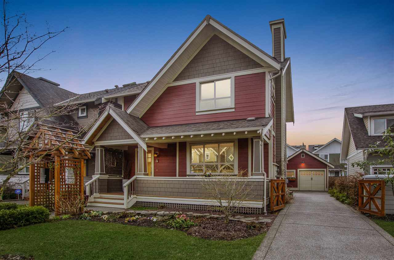 """Main Photo: 220 HOLLY Avenue in New Westminster: Queensborough House for sale in """"Red Boat in Port Royal"""" : MLS®# R2350588"""
