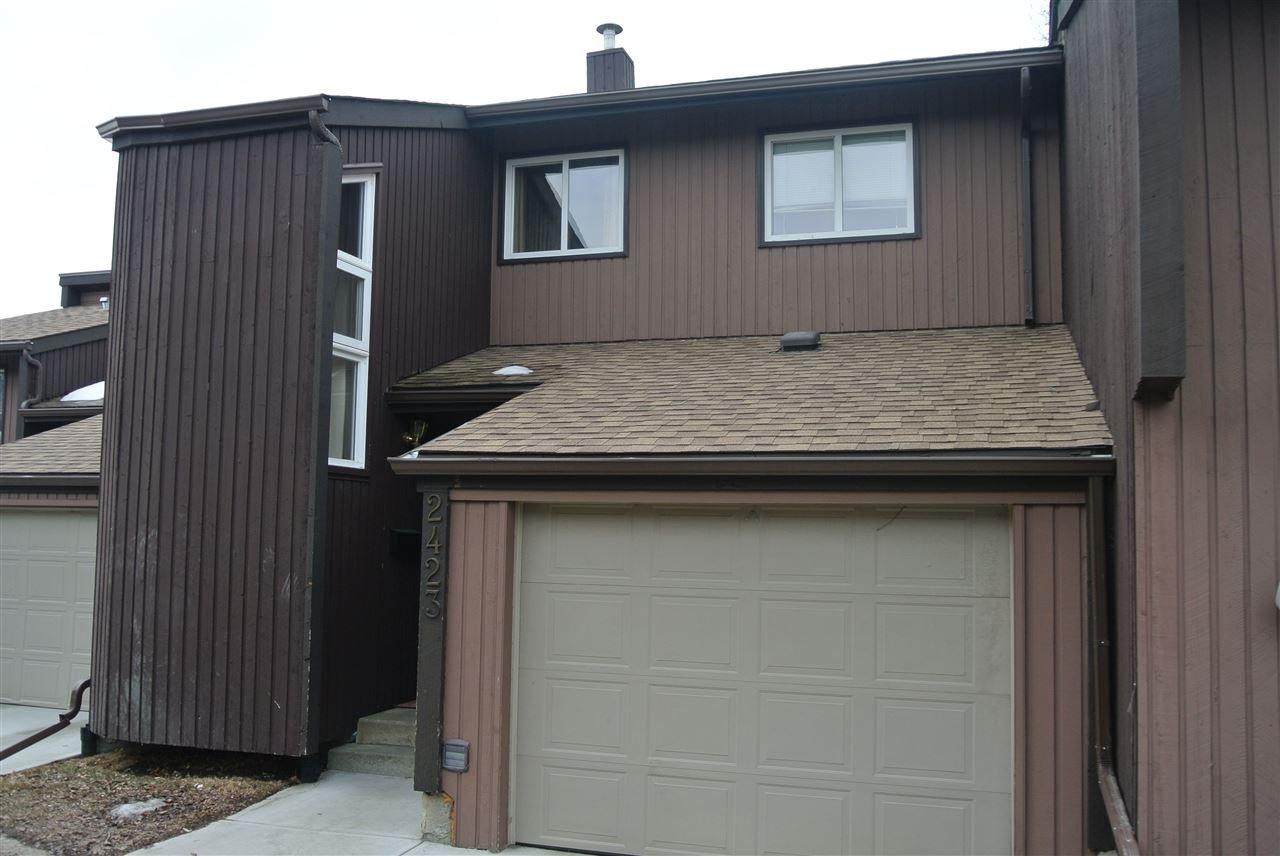 Main Photo: 2423 142 Avenue in Edmonton: Zone 35 Townhouse for sale : MLS®# E4163732