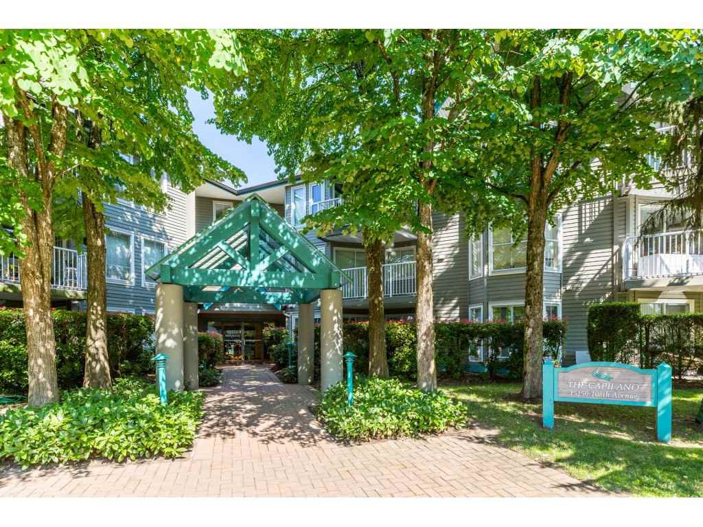 "Main Photo: 308 15150 108 Avenue in Surrey: Guildford Condo for sale in ""Riverpointe"" (North Surrey)  : MLS®# R2398810"