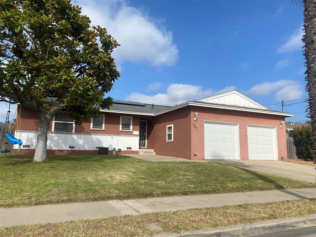 Main Photo: CHULA VISTA House for sale : 3 bedrooms : 743 Cedar Ave