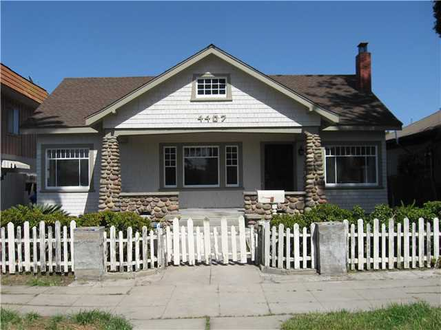 Main Photo: NORMAL HEIGHTS House for sale : 3 bedrooms : 4407 GEORGIA in San Diego
