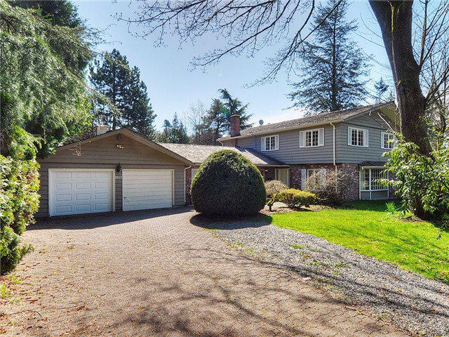 Main Photo: 4157 SALISH Drive in Vancouver: University VW House for sale (Vancouver West)  : MLS®# V908570