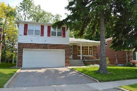 Main Photo: 37 Shellamwood Trail in Toronto: Agincourt North House (Sidesplit 4) for sale (Toronto E07)  : MLS®# E2928349