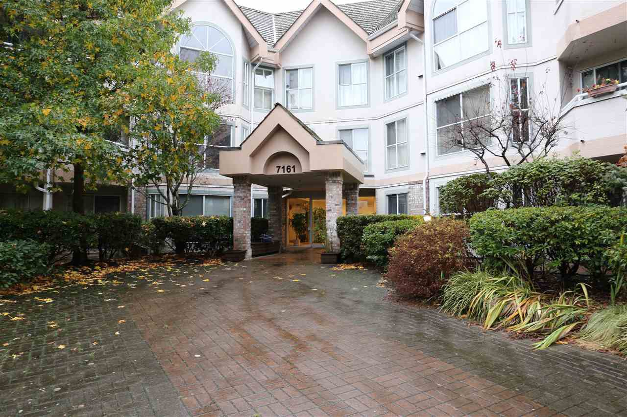 "Main Photo: 111 7161 121 Street in Surrey: West Newton Condo for sale in ""THE HIGHLANDS"" : MLS®# R2125687"