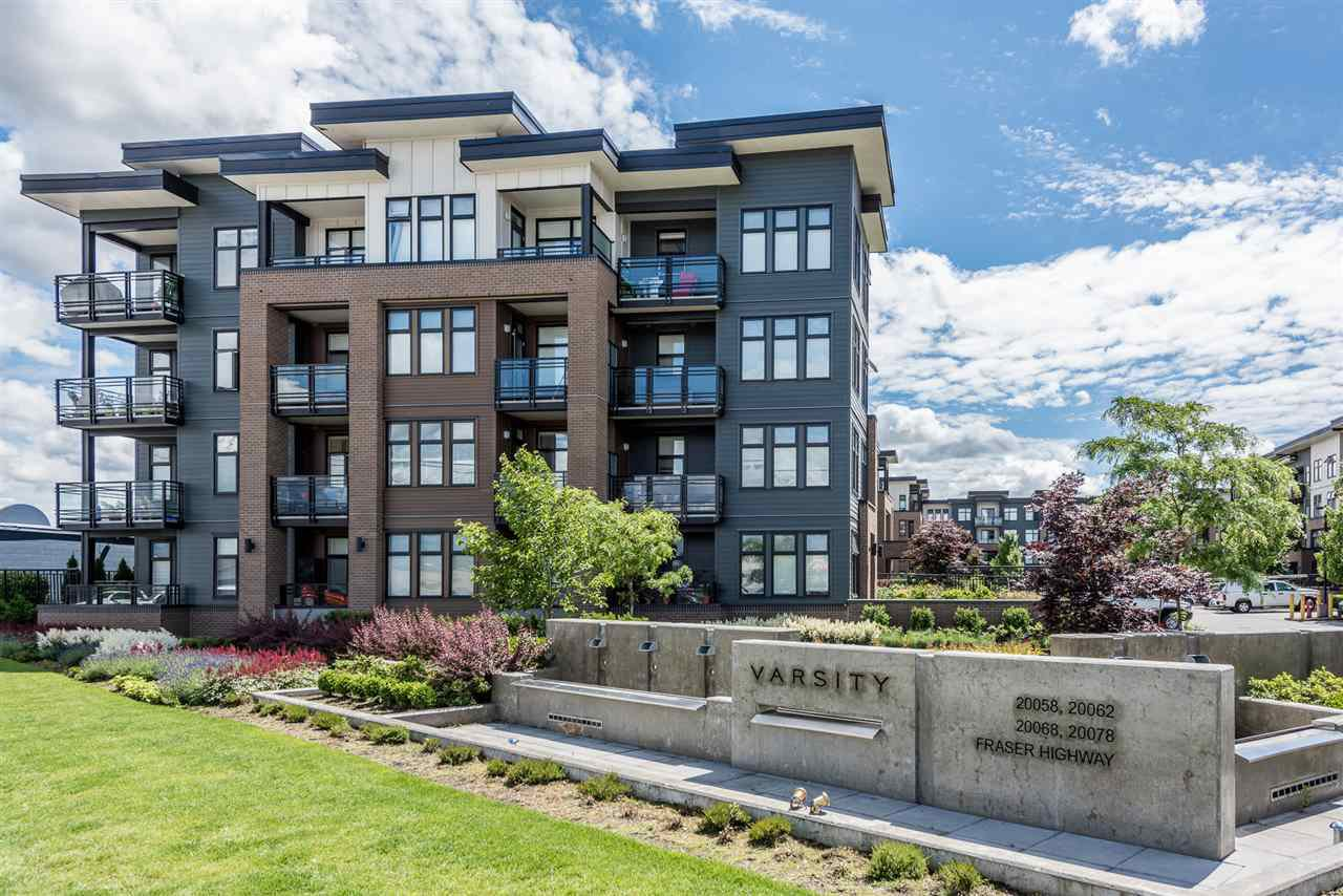 "Main Photo: 104 20068 FRASER Highway in Langley: Langley City Condo for sale in ""VARSITY"" : MLS®# R2179107"