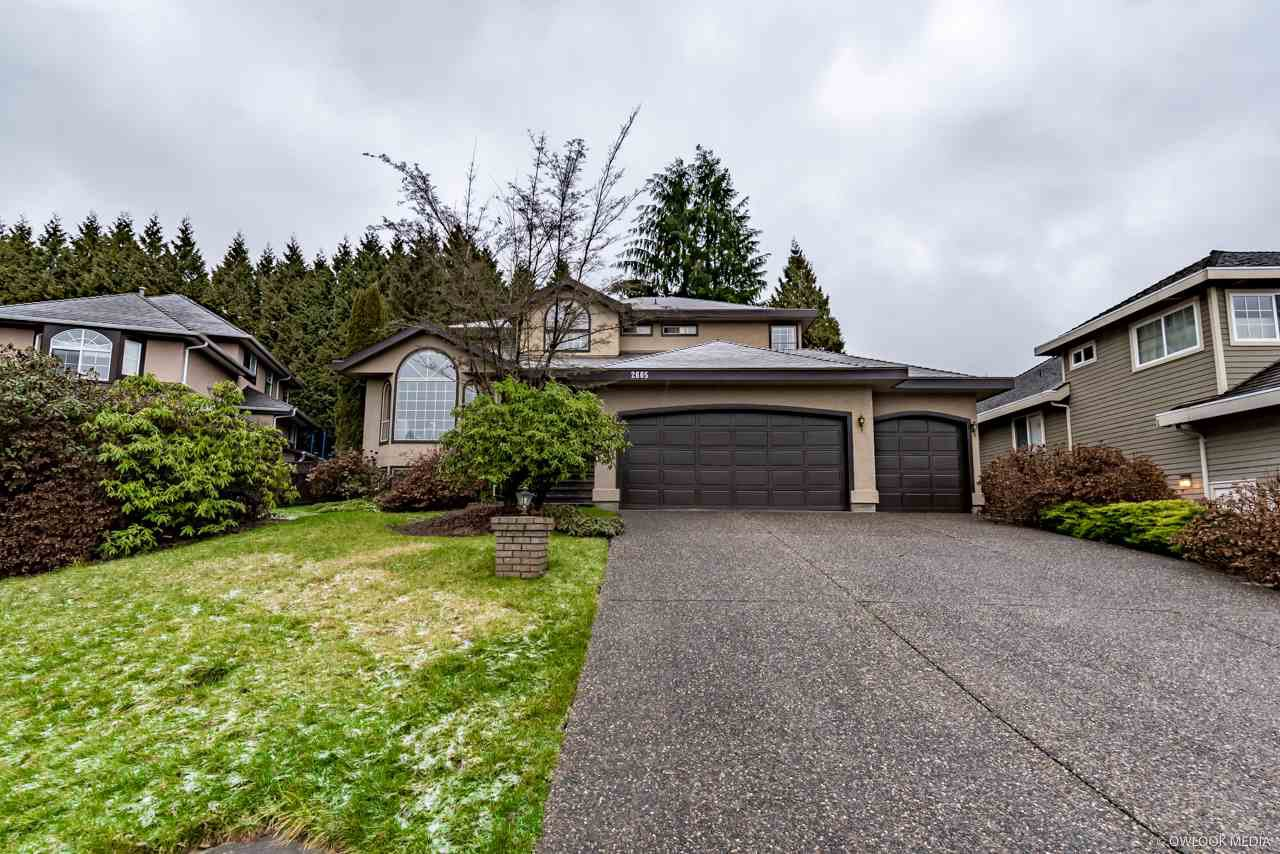 Main Photo: 2605 SANDSTONE Court in Coquitlam: Westwood Plateau House for sale : MLS®# R2234370