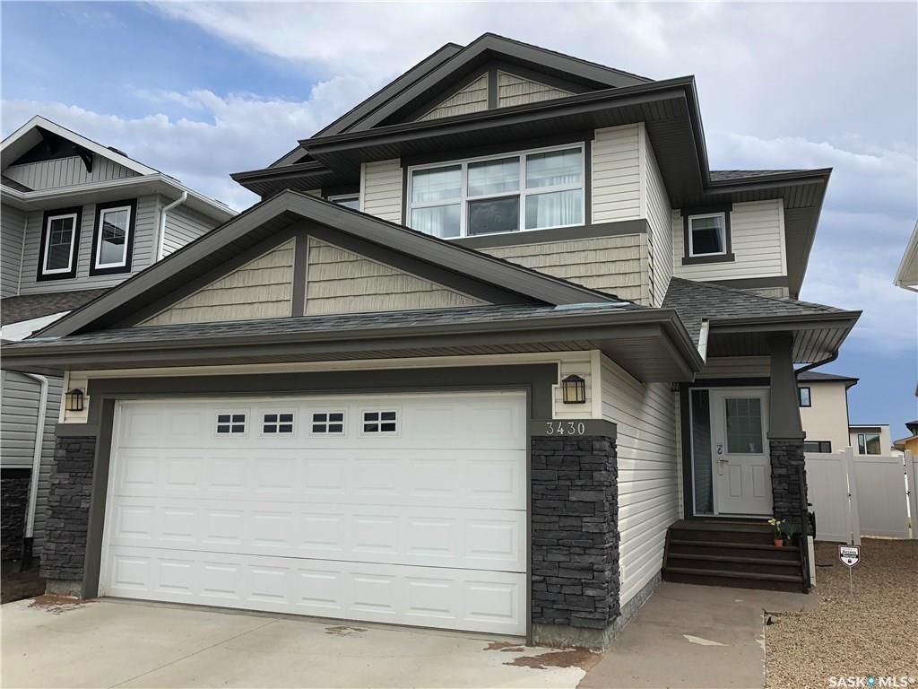Main Photo: 3430 Green Stone Road in Regina: Greens on Gardiner Residential for sale : MLS®# SK720881
