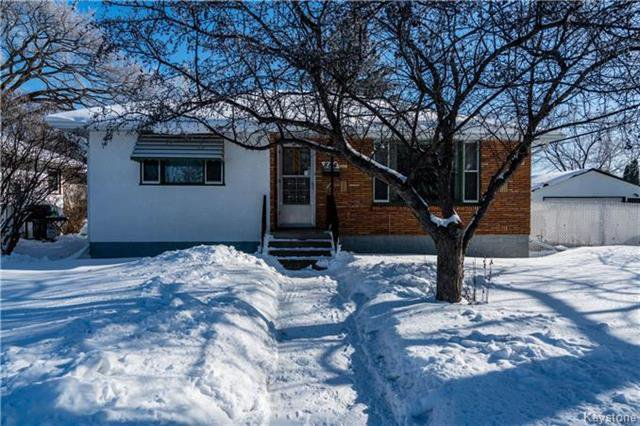 Main Photo: 884 Fisher Street in Winnipeg: Riverview Residential for sale (1A)  : MLS®# 1805068
