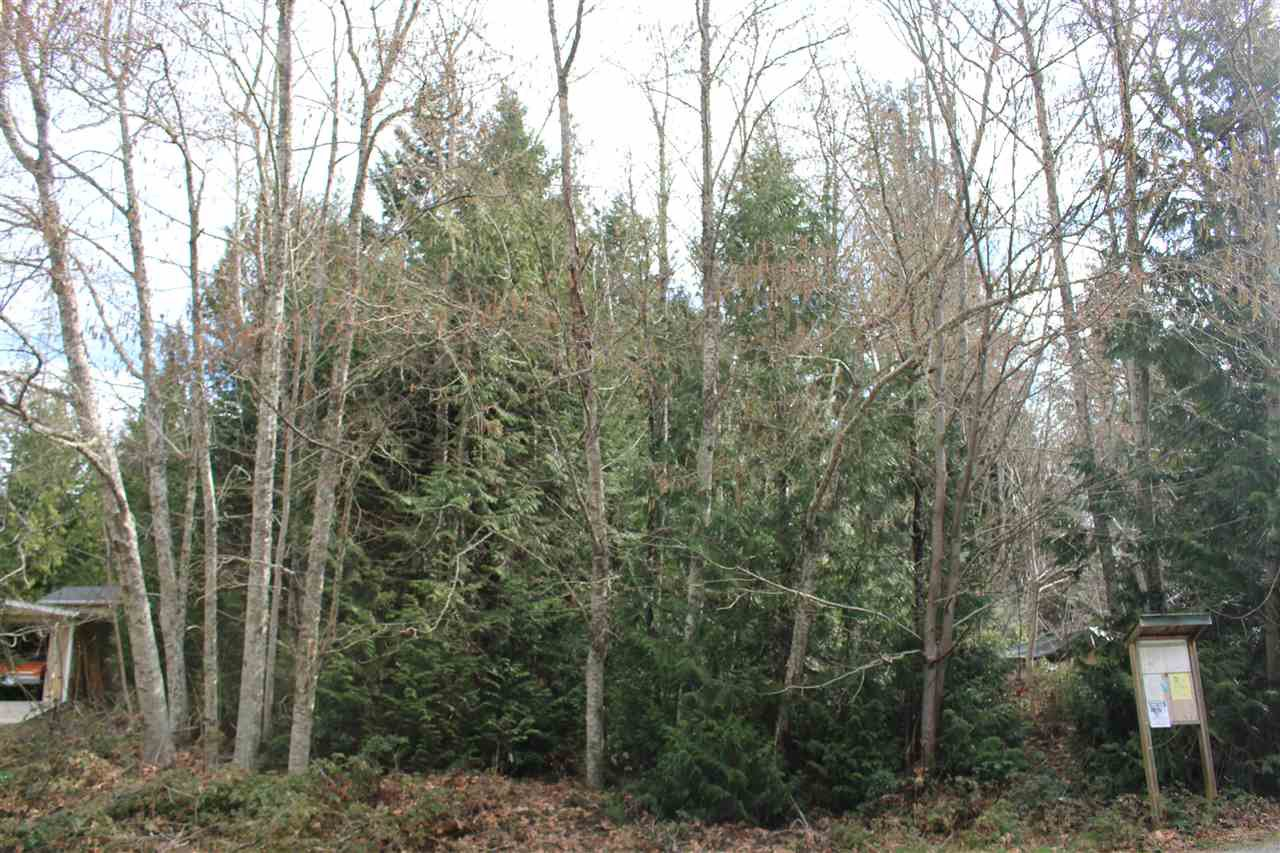 Main Photo: 6142 S GALE Avenue in Sechelt: Sechelt District Land for sale (Sunshine Coast)  : MLS®# R2264834