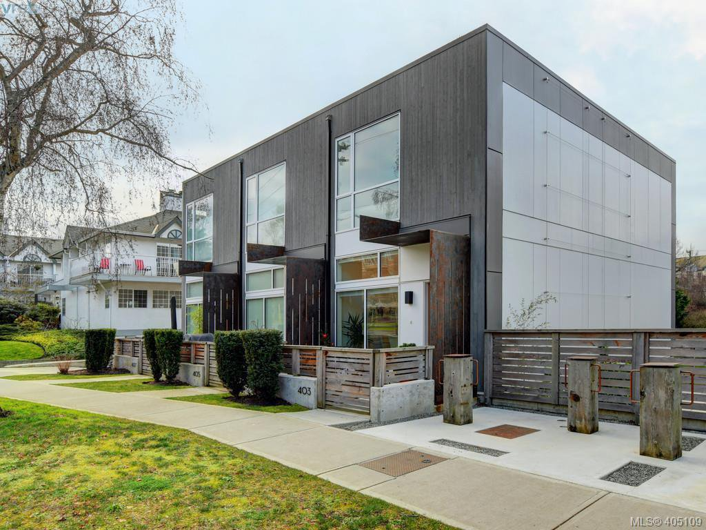 Main Photo: 403 Kingston St in VICTORIA: Vi James Bay Row/Townhouse for sale (Victoria)  : MLS®# 804968