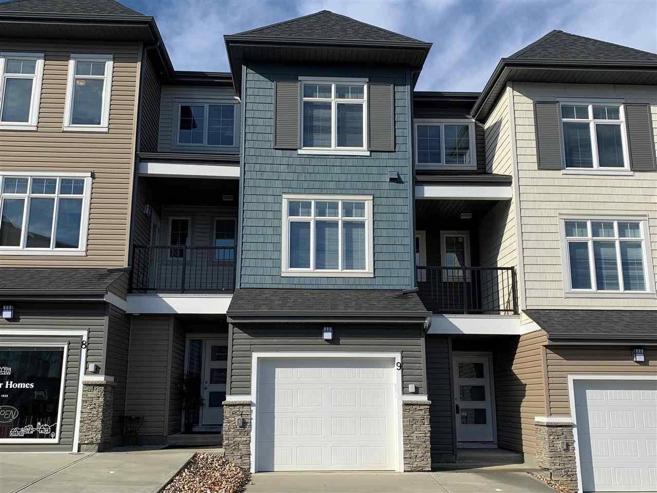 Main Photo: 9 600 Bellerose Drive: St. Albert Townhouse for sale : MLS®# E4176874