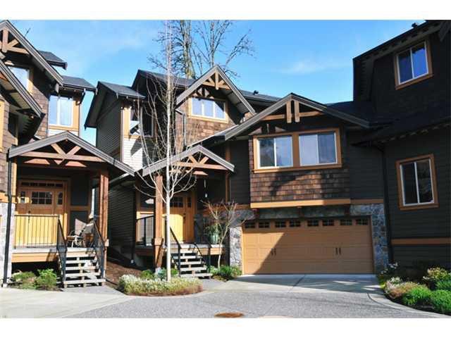"Main Photo: 31 24185 106B Avenue in Maple Ridge: Albion Townhouse for sale in ""TRAILS EDGE"" : MLS®# V1055374"