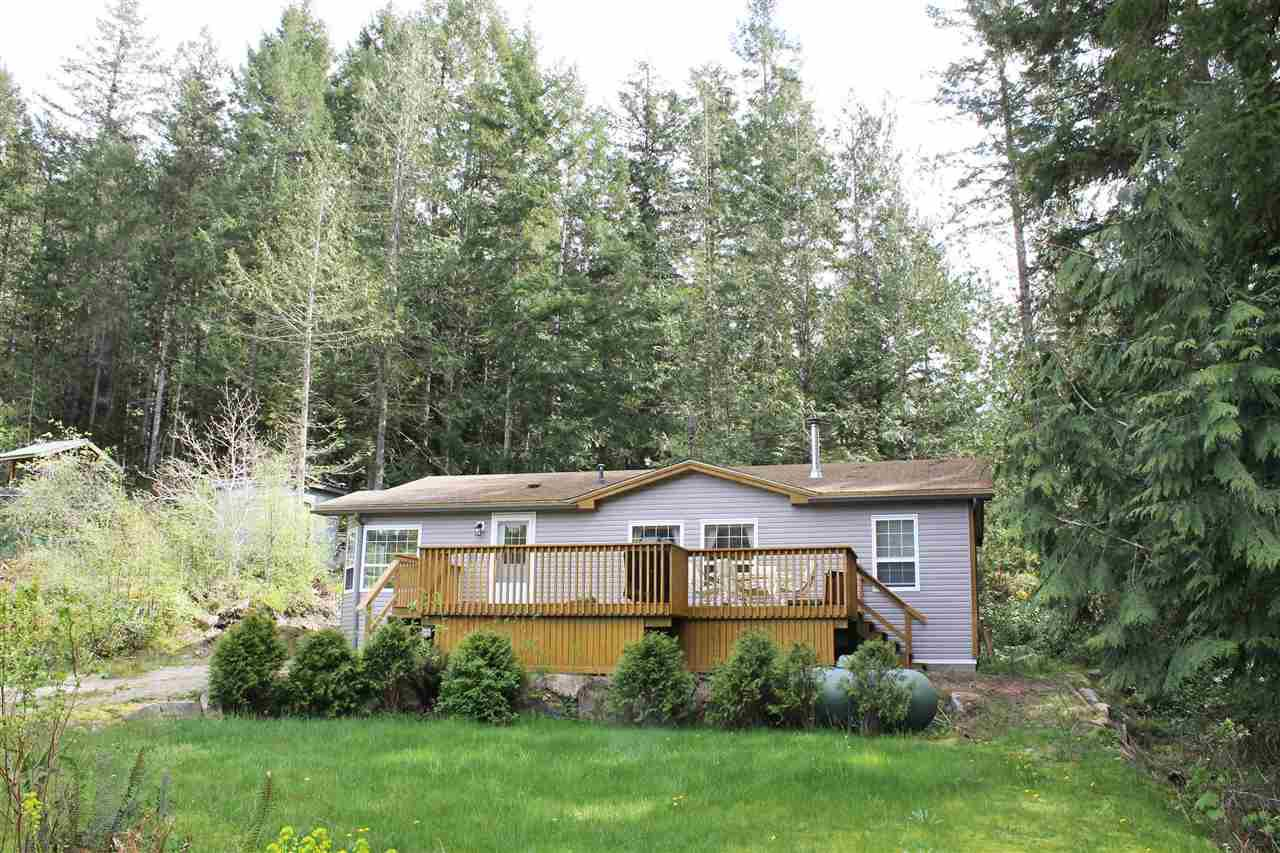 Main Photo: 13262 PORTERS Road in Pender Harbour: Pender Harbour Egmont House for sale (Sunshine Coast)  : MLS®# R2058338