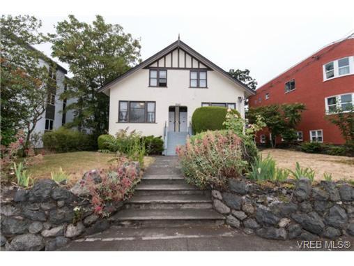 Main Photo: 2440 Quadra Street in VICTORIA: Vi Central Park Revenue 4-Plex for sale (Victoria)  : MLS®# 366840