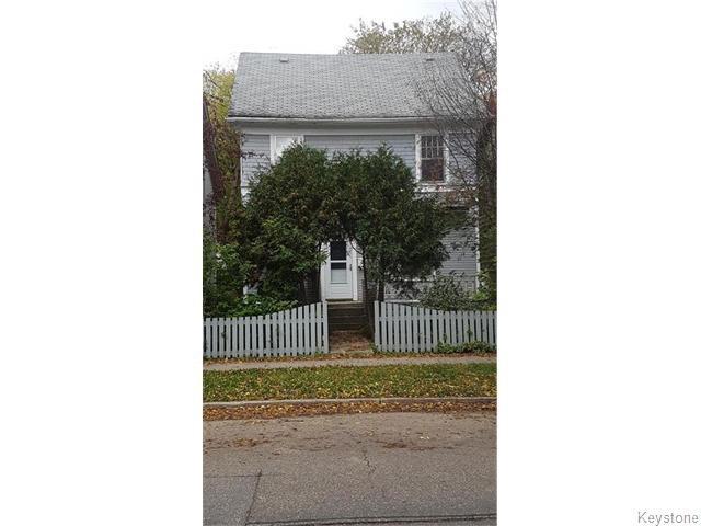Main Photo: 176 Arlington Street in Winnipeg: Wolseley Residential for sale (5B)  : MLS®# 1625544