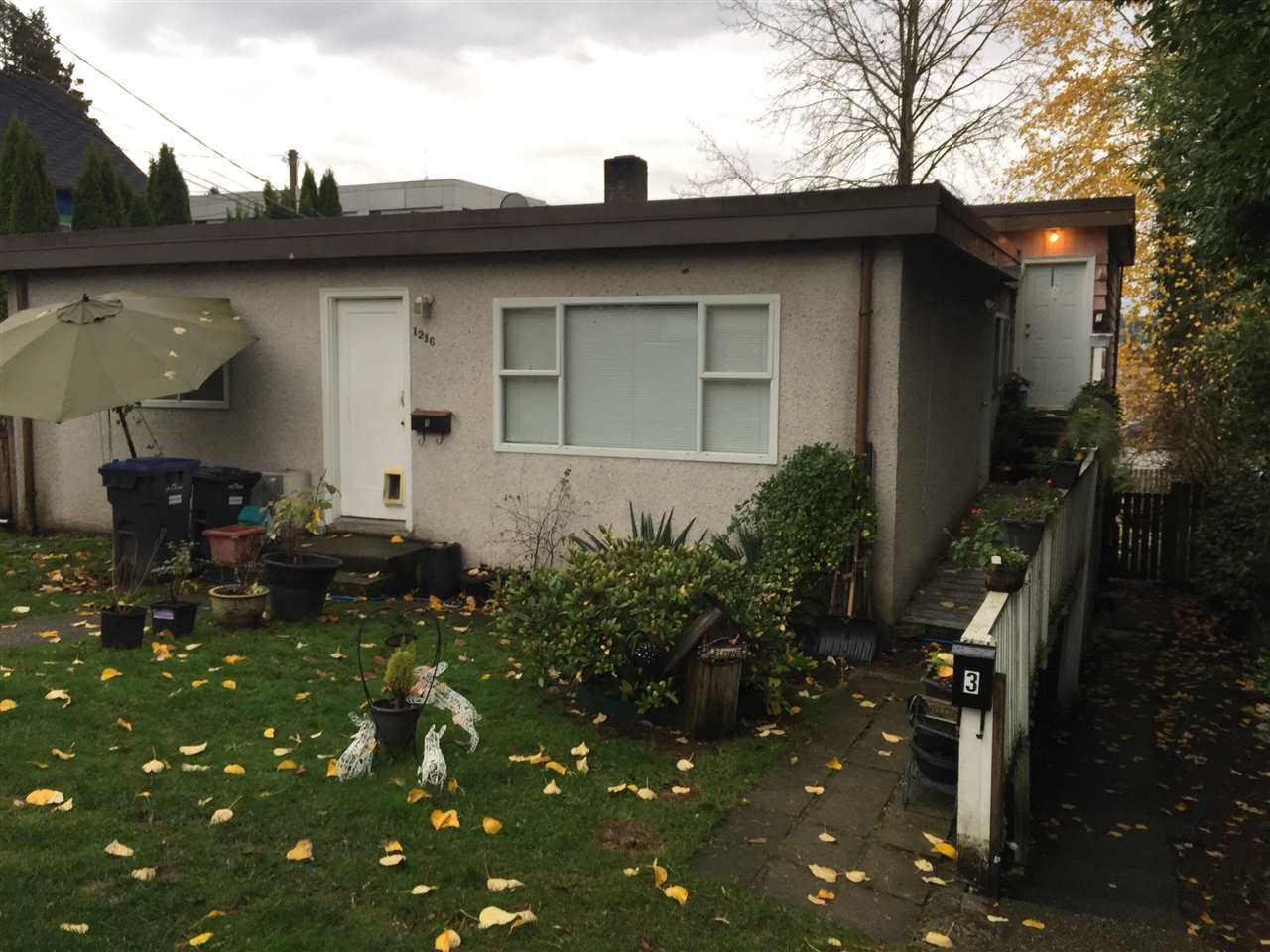 Main Photo: 1216 FOURTH AVENUE in New Westminster: Uptown NW Multifamily for sale : MLS®# R2244499